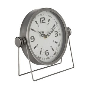Stolové hodiny Mauro Ferretti Pull Silver, 25 x 23,5 cm