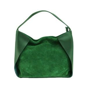 Kožená kabelka Duose Verde