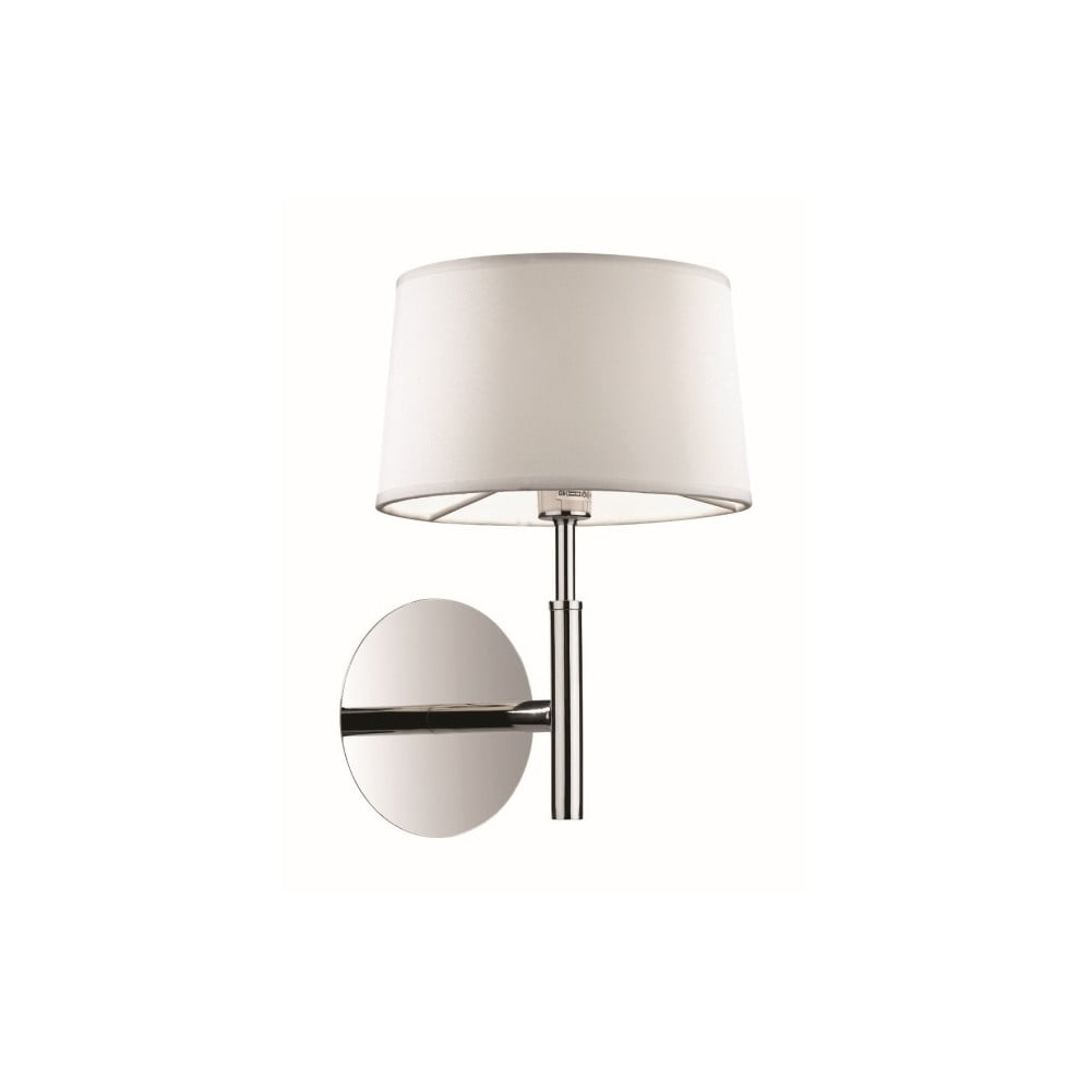 Biele nástenné svietidlo Evergreen Lights Elegant