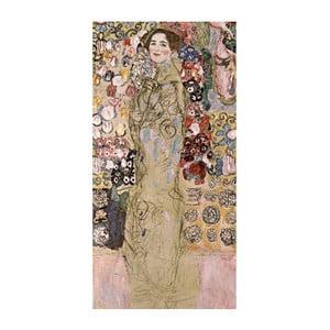 Reprodukcia obrazu Gustav Klimt - Portrait of Maria Munk, 70x30cm