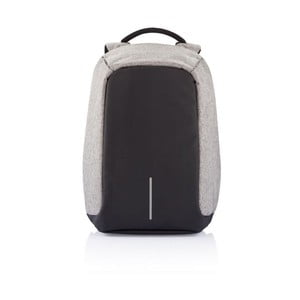 Sivo-čierny bezpečnostný batoh XDDesign Bobby
