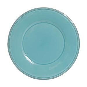 Modrý keramický dezertný tanier Côté Table, ⌀ 23,5 cm