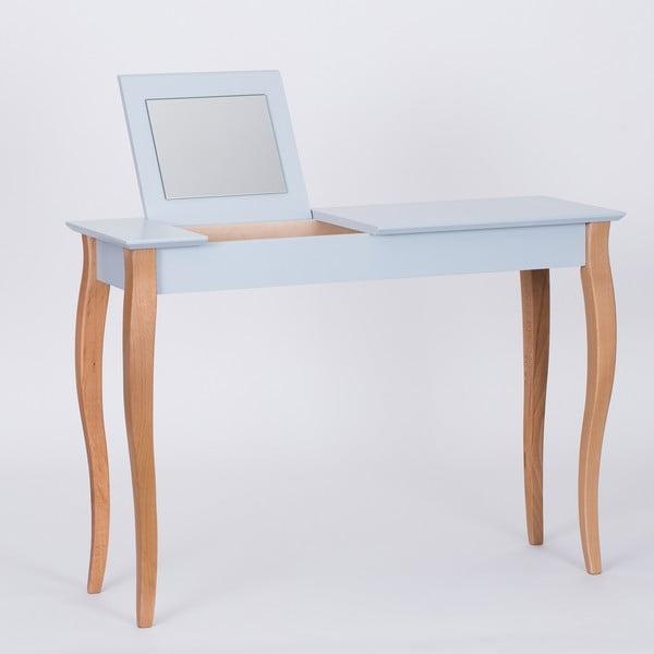 Svetlosivý toaletný stolík sozrkadlom Ragaba Dressing Table,dĺžka105cm