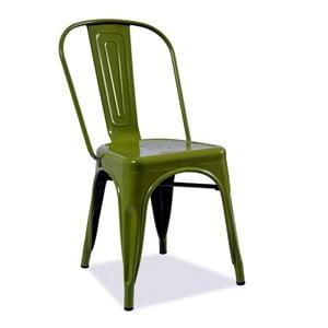Stolička Loft, zelená