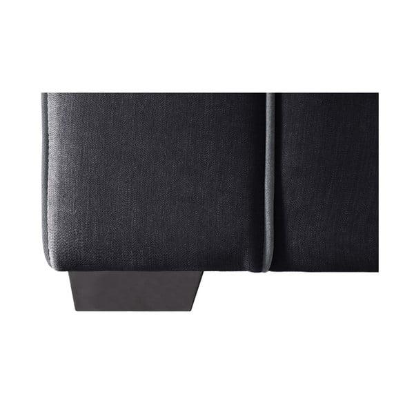 Dvojdielna sedacia súprava Jalouse Maison Serena, čierna