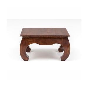 Konferenčný stolík z akáciového dreva WOOX LIVING Bali, 75 × 75 cm