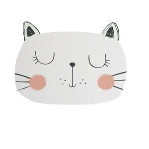 Detská predložka Little Nice Things Cat, 80 x 60 cm