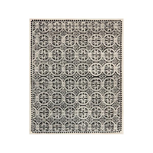 Vlnený koberec Marina Light Grey, 243x304 cm