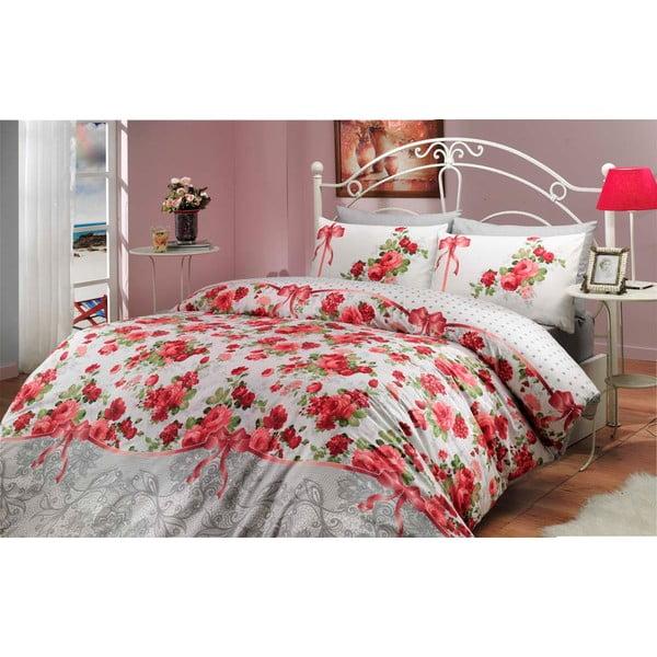 Obliečky s plachtou Felicita Red, 200x220 cm