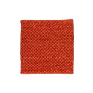 Kúpeľňová predložka Dotts Red, 60x60 cm