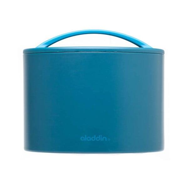 Termobox na desiatu Bento 600 ml, petrolejový