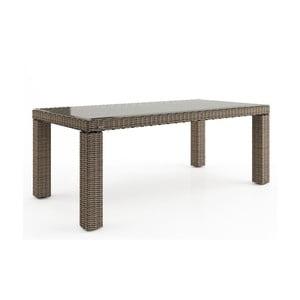 Béžový záhradný stôl Oltre Rapallo, 160cm