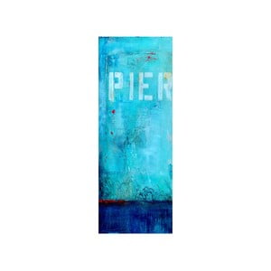Obraz Pier I, 30x80 cm
