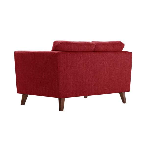 Pohovka pre dvoch Jalouse Maison Elisa, klasická červená
