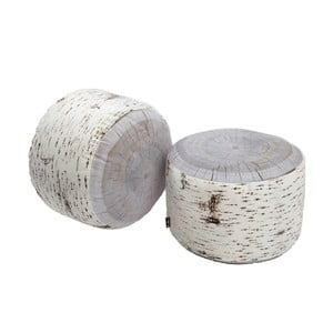 Sedák Merowings Birch Tree Stump, 60cm, vhodný do exteriéru
