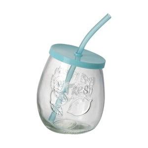 Tyrkysový pohár so slamkou Parlane Straw Tyrq