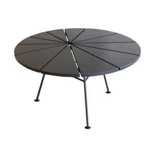 Čierny odkladací stolík OK Design Bambam, Ø70 cm