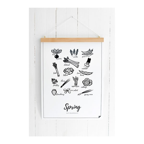 Plagát Follygraph 4 Seasons Spring, 40x50cm