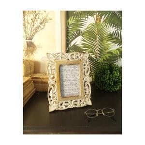 Sada 2 rámčekov z mangového dreva Orchidea Milano Citadela, výška 26 cm