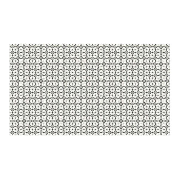 Vinylový koberec Hutun Grey, 52x280 cm