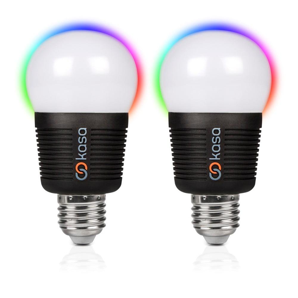 Sada 2 šikovných LED žiaroviek s možnosťou bluetooth ovládania Veho Kasa, E27