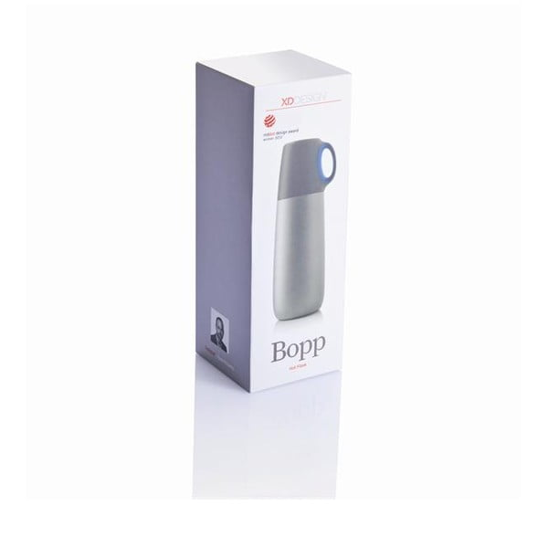 Modrá termoska s hrnčekom XDDesign Bopp