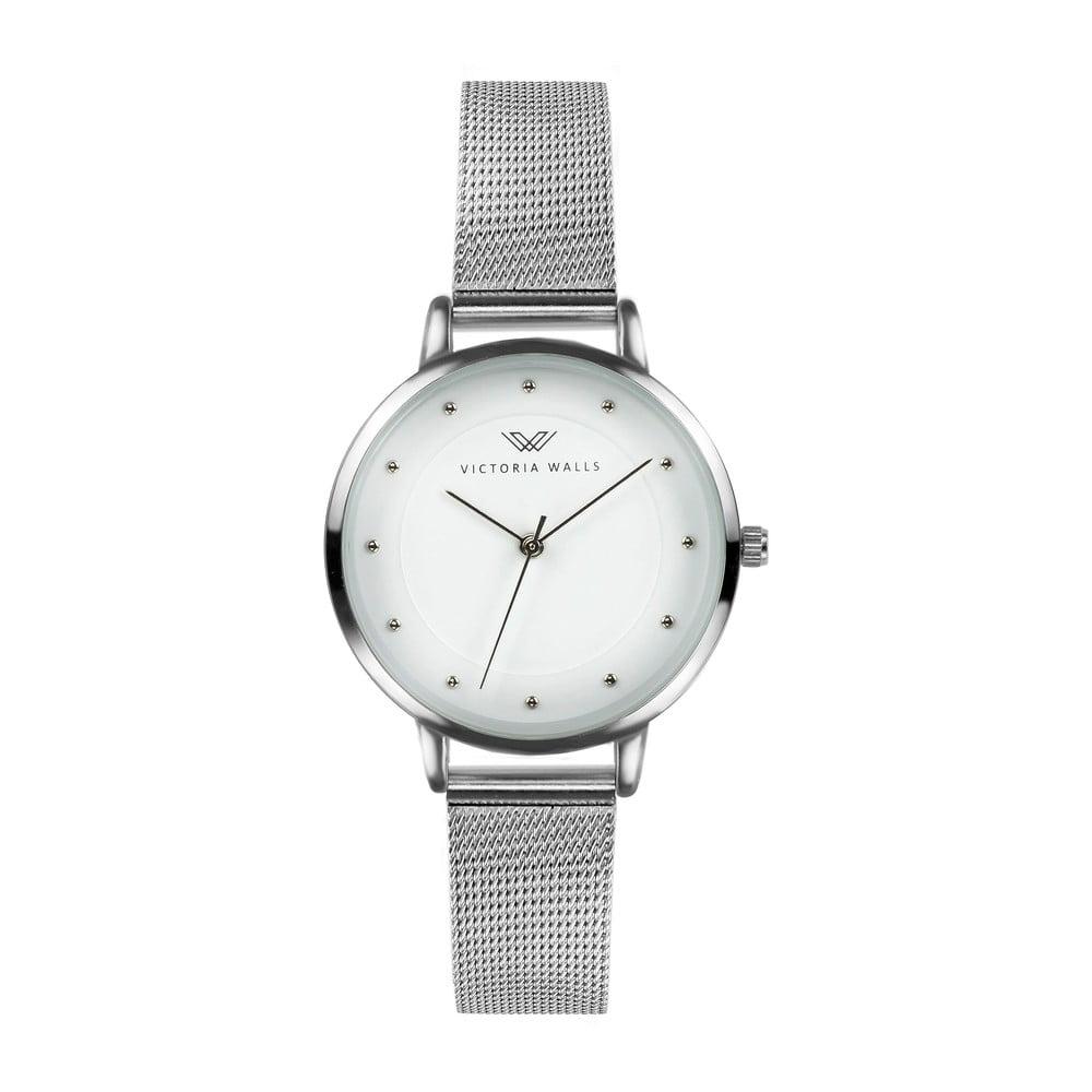 6da00fe5c Dámske hodinky s remienkom z chirurgickej ocele Victoria Walls Kumla ...