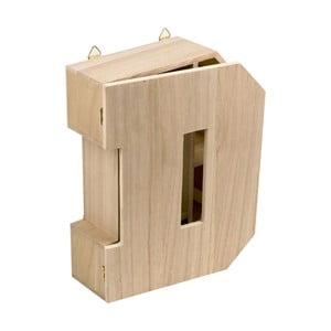 Nástenný box Letter D