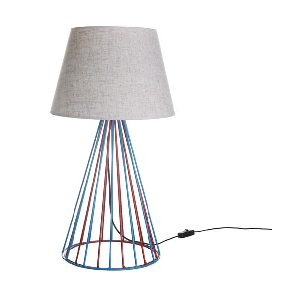 Stolová lampa Wiry White/Blue/Red