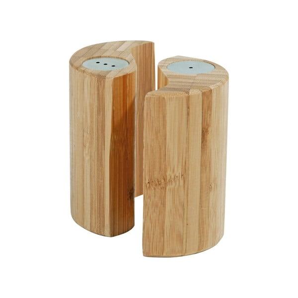 Sada bambusové soľničky a koreničky Zen
