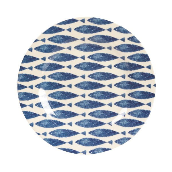 Melamínový tanier Couture Fishie, 20.3 cm