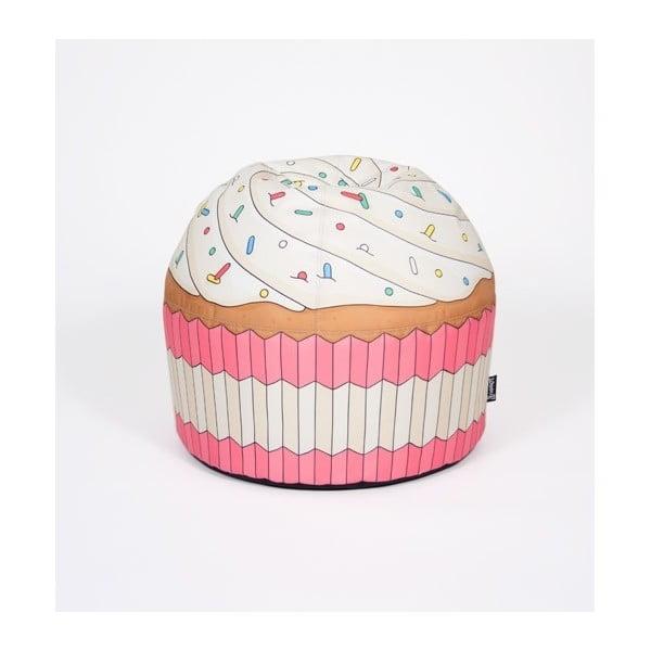 Puf v tvare koláčika Cupcake Pink