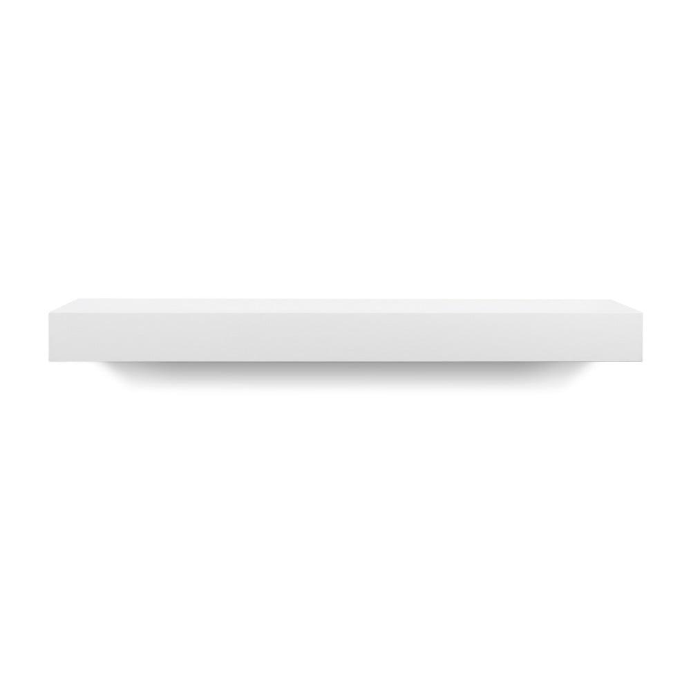 Biela polička TemaHome Balda, šírka 60 cm