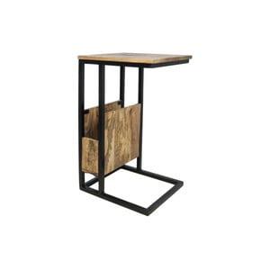 Príručný stolík z mangového dreva HSM collection Carro
