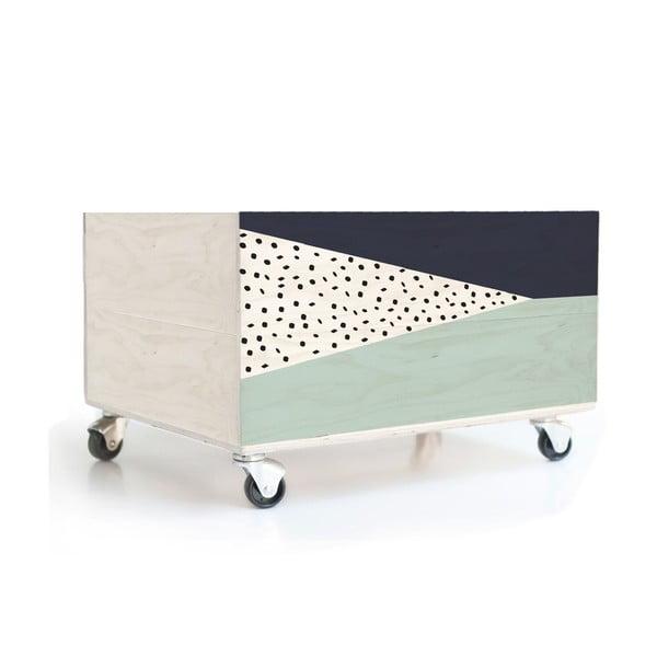 Pojazdný úložný box Geometric 2