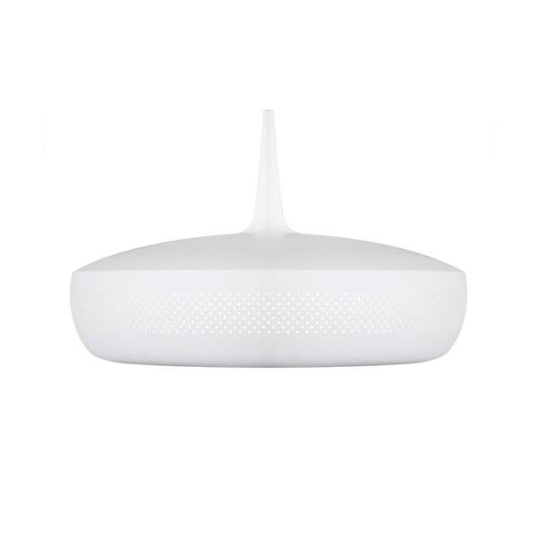 Biele závesné svietidlo VITA Copenhagen Clava Dine, Ø43 cm