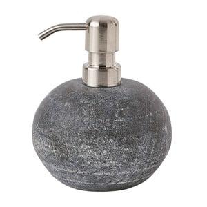 Sivý mramorový dávkovač mydla Aquanova Flint