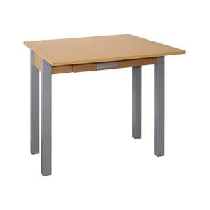 Rozkladací jedálenský stôl v dekore dubového dreva Pondecor Elmadona, 40×80cm