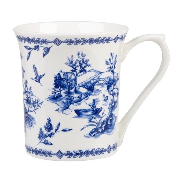 Hrnček Blue Willow Toile, 220 ml
