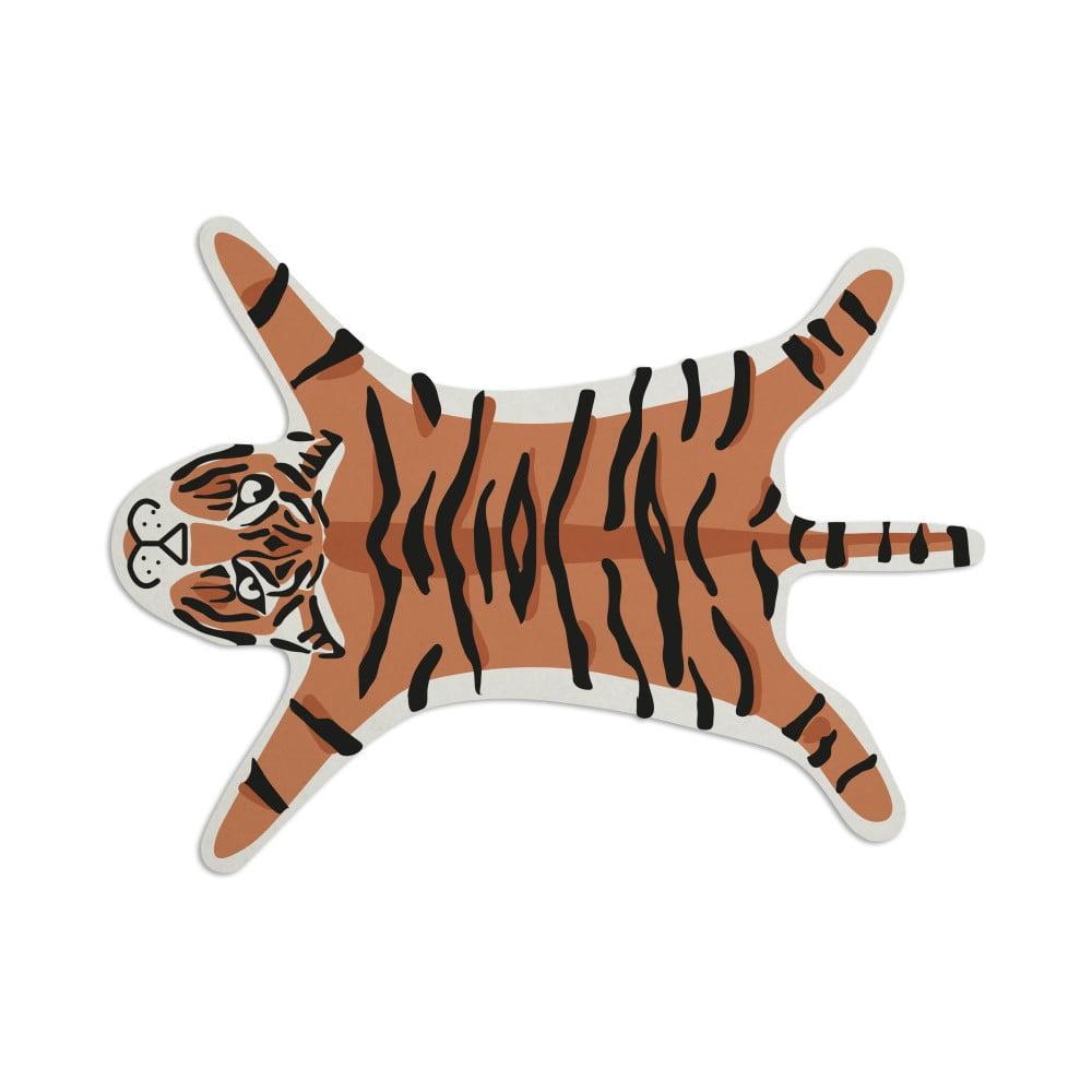 Koberec Really Nice Things Tiger, 150 × 150 cm