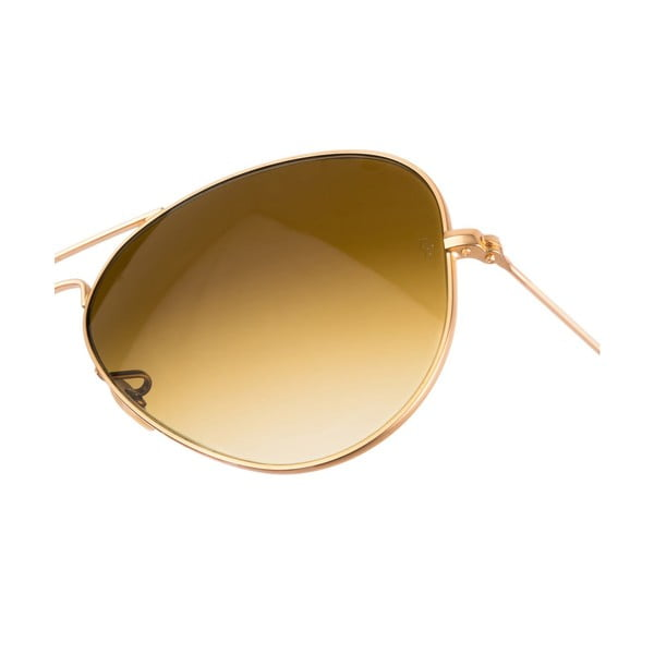 Pánske slnečné okuliare Ray-Ban Aviator Flash Dorado Mate