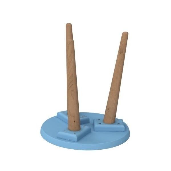 Stôl D2 Bergen, 30 cm, modrý