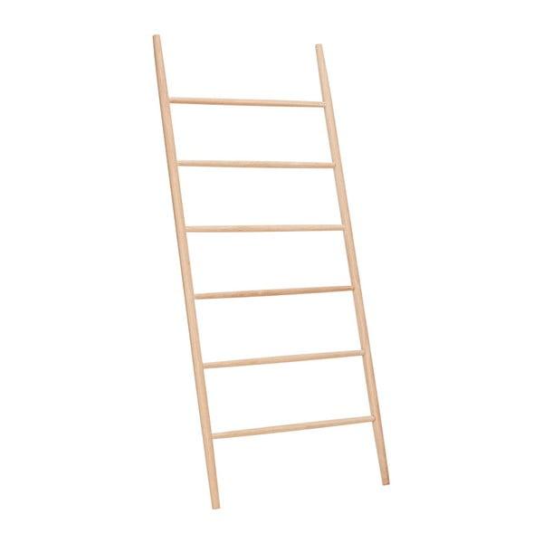 Rebrík s policami z dubového dreva Hübsch Oak Display Ladder Puro