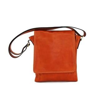 Kožená unisex taška Norado Cognac