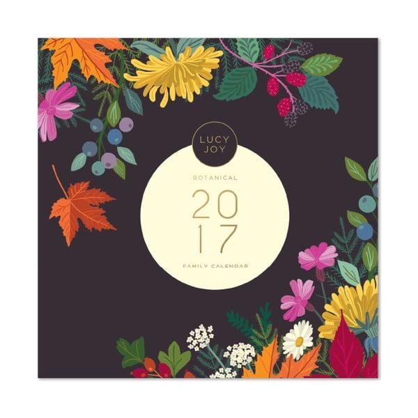 Rodinný kalendár Portico Designs Lucy Joy