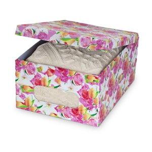 Úložná krabica  s potlačou Bonita Rose