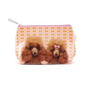 Malá kozmetická taška Poodle Love