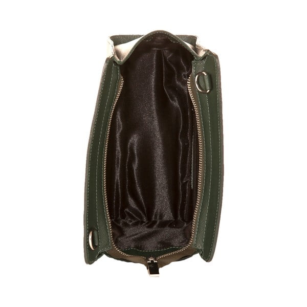 Zelená kabelka z pravej kože Andrea Cardone Mattia