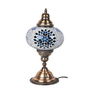 Stolová sklenená lampa Homemania Fudžarja, ⌀17cm