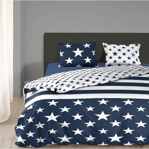 Bavlnené obliečky Mundotextil Stars and Stripes, 135x200 cm